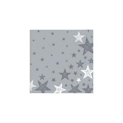 DUNI LAUTASLIINA 33CM SHINING STAR HARMAA 20KPL