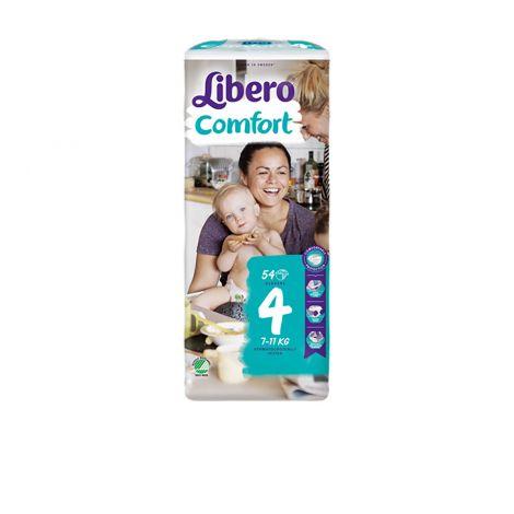 LIBERO COMFORT KOKO 4 7-11KG  54 KPL