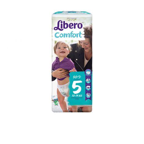 LIBERO COMFORT KOKO 5 10-14 KG 50 KPL