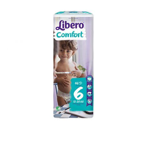LIBERO COMFORT KOKO 6 13-20 KG 46 KPL