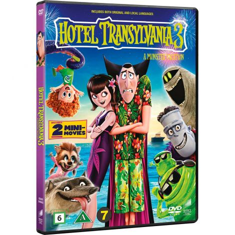 DVD HOTEL TRANSYLVANIA 3 A MONSTER VACATION