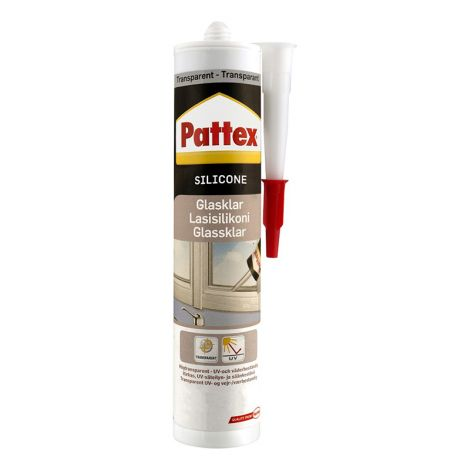 PLASTIC PADDING PATTEX LASISILIKONI VÄRITÖN 280 ML