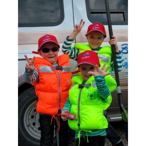 Hokka XS Boating 20-30kg pelastusliivi oranssi 100N