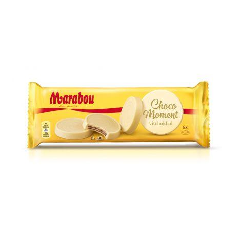 Marabou Choco Moment valkosuklaakeksi 180g
