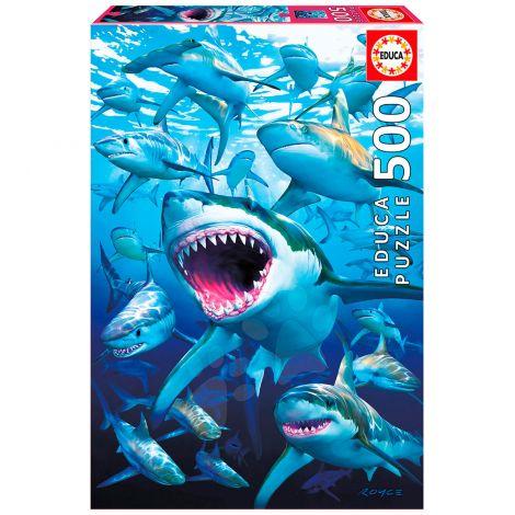 EDUCA PALAPELI 500 SHARK CLUB