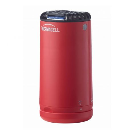 Thermacell Mini Halo hyttyskarkotin, punainen