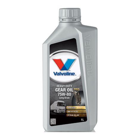 VALVOLINE HEAVY DUTY GEAR OIL PRO 75W80 LD