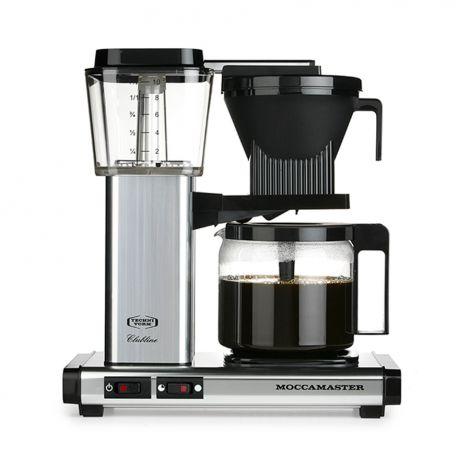 Moccamaster kahvinkeitin KBG962, hopea