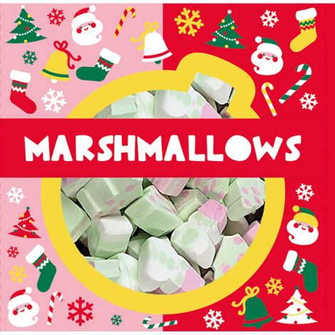 Christmas Marshmallows vaahtokarkit 250g