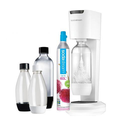 Sodastream Genesis hiilihapotuslaite, Megapack valkoinen