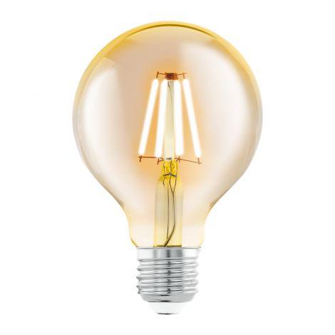 EGLO VINTAGE LED-LAMPPU 4.0W G80 E27 330 LUMENIA