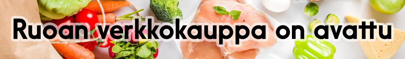 Ruoan verkkokauppa on avattu