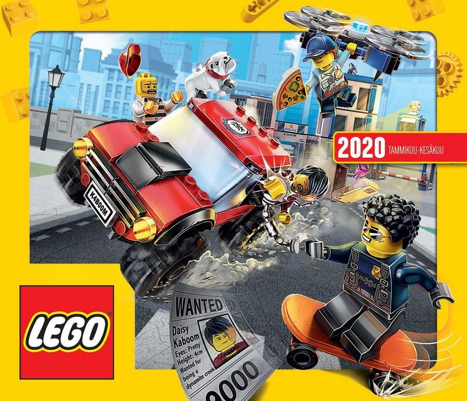Lego kuluttajaesite 2020
